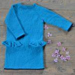Strikke opskrift på selma kjole til børn