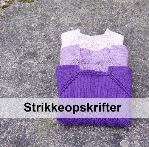 strikkeopskrifter til børn