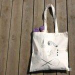 Mulepose til strikketøj